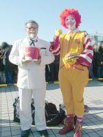 KFC and Mc Donalds Cosplay