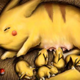 The realistic Pikachu