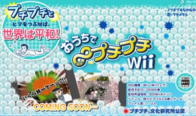 Pop Virtual Bubble Wrap on your Nintendo Wii