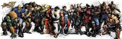 Super Street Fighter 4 Characters