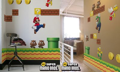 Super Mario Bros Decals