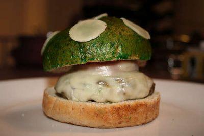 1up Mushroom Burger