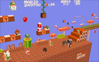 3D Super Mario Brothers