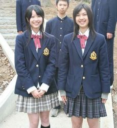 Longer skirts for Japanese schoolgirls