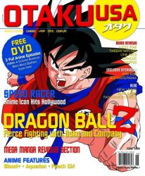Otaku USA June Cover