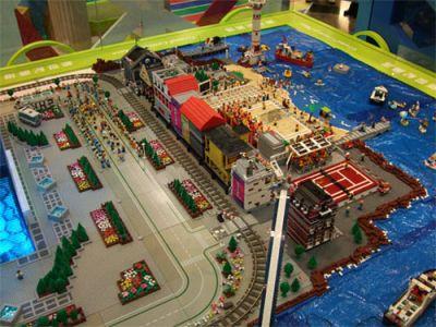 Beijing Olympics 2008: Legos