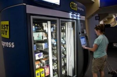 Best Buy's Gadget Vending Machines