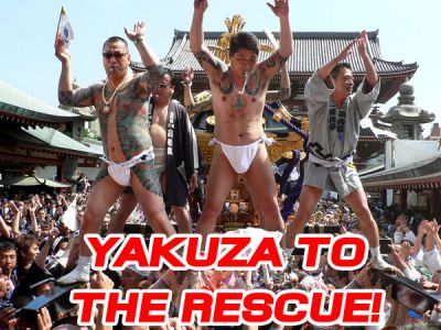 Fly mighty Yukuza. Rescue the bankrupt
