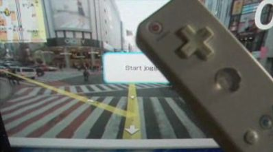 Jogging on the Wii in Tokyo