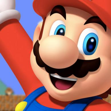 Super Mario saves the day