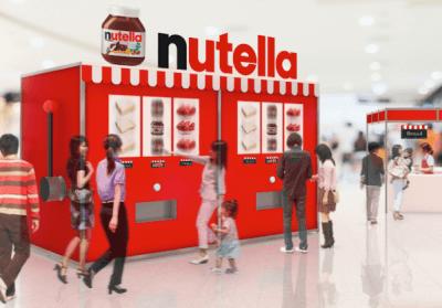 Nutella Vending Machine Japan