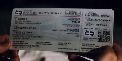 Ryme City ticket