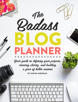 Whether you're setting goals for the new year or just hoping to step-up your blogging game, The Badass Blog Planner is the must-have guide to blog with purpose and grow your online presence like a pro. Packed with over 60 worksheets, this book will help you review the past year and hatch a plan to improve your blog content, social media, products and services, email newsletter, marketing, advertising, budget, and website design.
