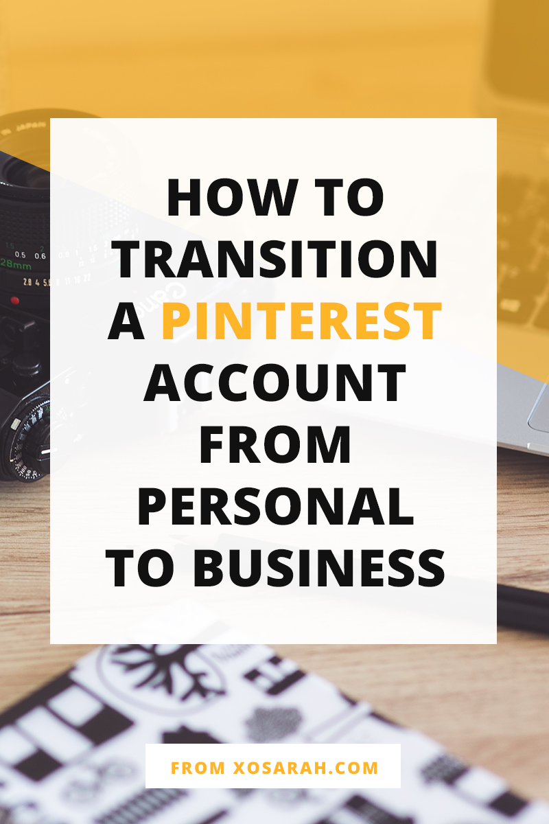 If you're using Pinterest only for personal bookmarking, you're missing out on a massive amount of blog traffic. Click through for the 7 steps to easily switch your Pinterest account from personal to business.