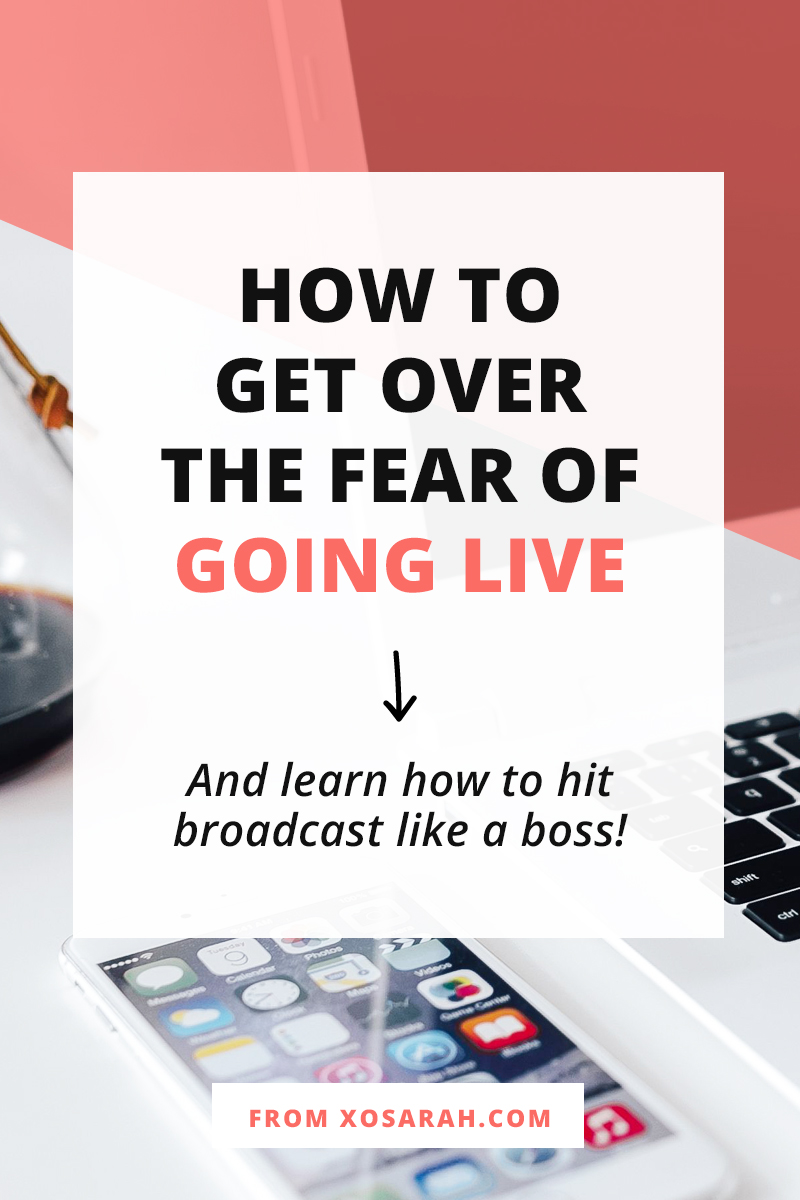 If you've been thinking about creating video content but the idea of broadcasting live is just plain scary, this post is for you! Here's what to share, how to share it, and a few tips for going live without wanting to throw up every time.