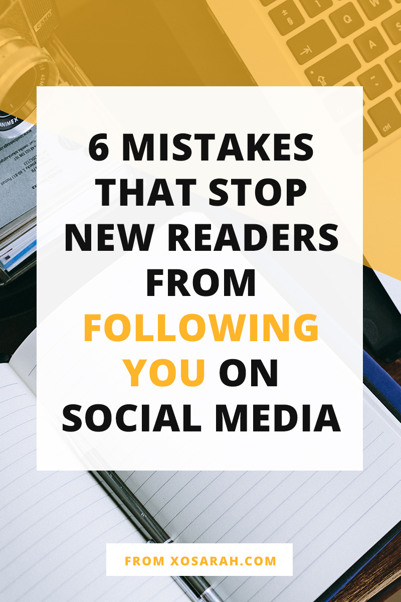 Wondering why you aren't getting more followers on Instagram, Facebook, Pinterest, or Twitter? Here are six tips to get more followers and be better at marketing on social media.