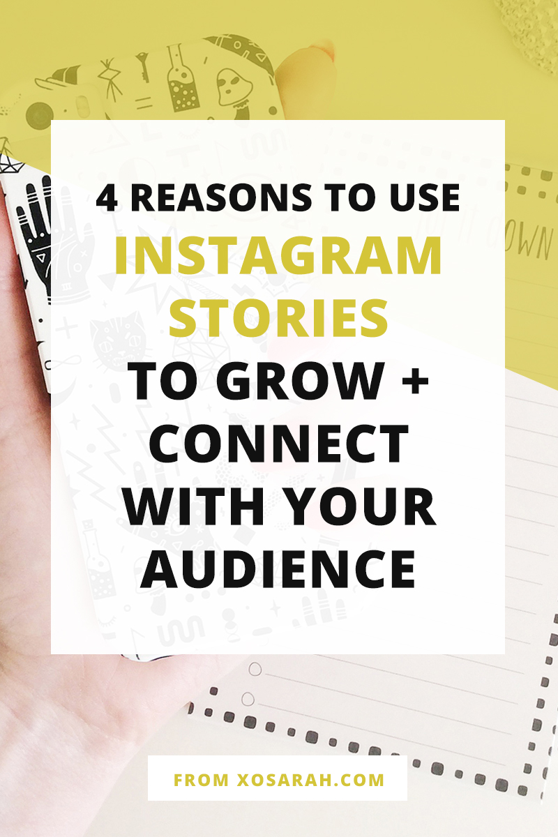 Instagram is one of the best ways to grow and connect with your audience. Here's why every blogger and business owner should take advantage of this marketing strategy asap!