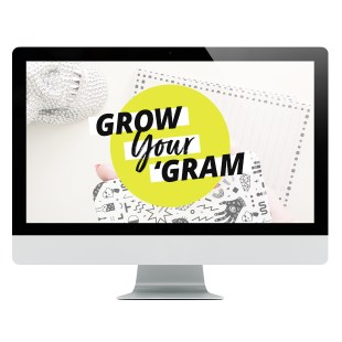 Grow Your 'Gram online course from XOSarah