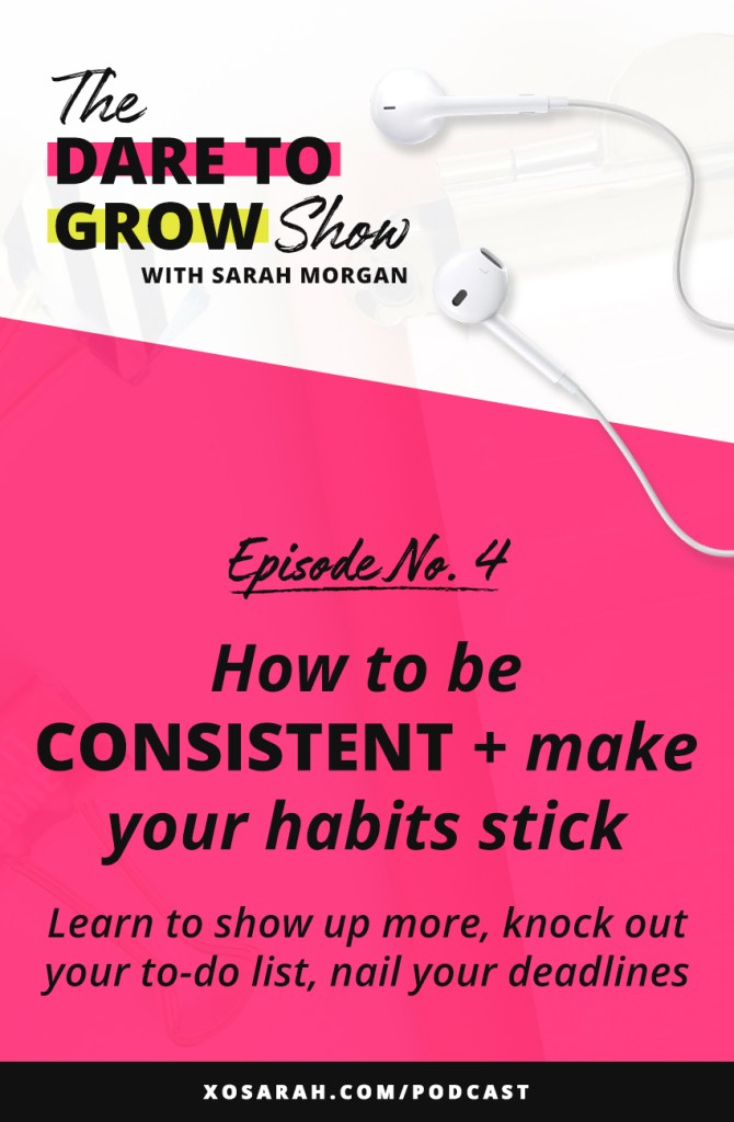 Struggling to post consistently, show up on Instagram, hit your deadlines? In this episode we're digging into what's REALLY behind the struggle to be consistent. Here's how to show up more, build better productivity habits, and finally figure out what's holding you back. Procrastinators - this podcast episode is for you!