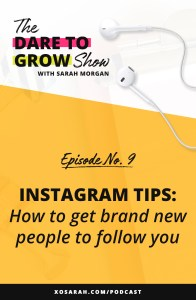 If you're spending time on Instagram without a plan for attracting new followers, this episode is for you. We're talking about what to add to your profile and post in your feed to make your profile extra attractive to potential clients and customers. If your posts are reaching lots of people but your follower count isn't growing, here's how to make it happen!