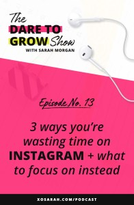 I'm sharing the top 3 Instagram strategies that are wasting your time. These outdated ideas can slow your sales, keep from growing your followers, and even get your account blocked.