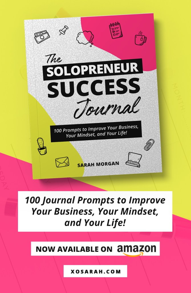 The Solopreneur Success Journal is your guide through the big + small issues that pop up as you grow your audience, show up with authority, take on new opportunities, and increase your income. Whether you're just launching your business or have been at it for years, each journal prompt will help you dig into the issues that can throw you off, slow you down, or stop you from moving forward.If you're ready to grow your business and improve your mindset, this journal is for YOU!