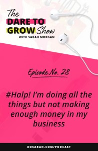 Hey Solopreneur - If you're working crazy hours, doing all the things, and not making enough money in your business, this episode is for you! Here are 7 things to audit in your marketing to get things moving and earn more with your online business.
