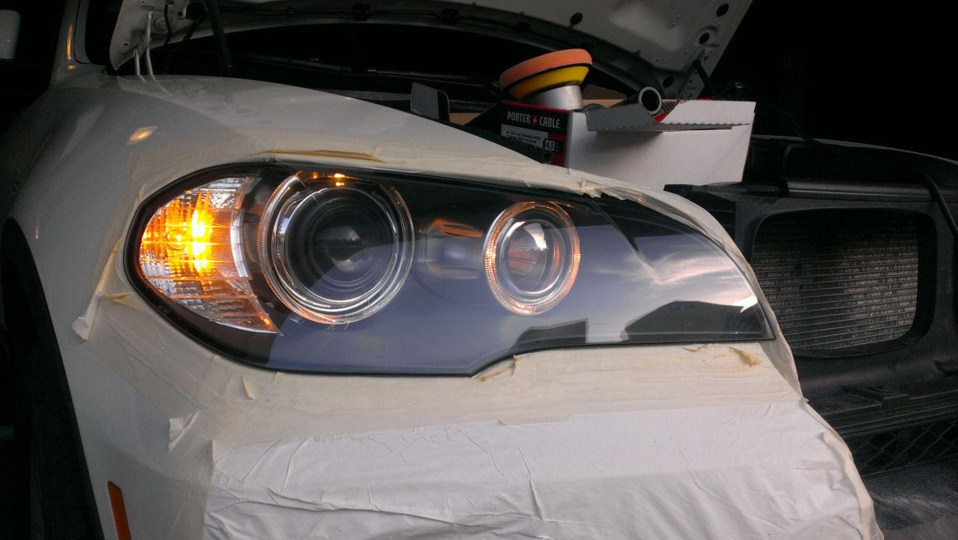 Restore Headlight Cover