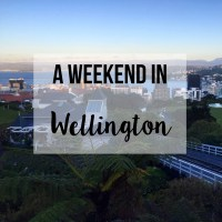 Weekend In Wellington