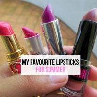 My Favourite Lipsticks For Summer
