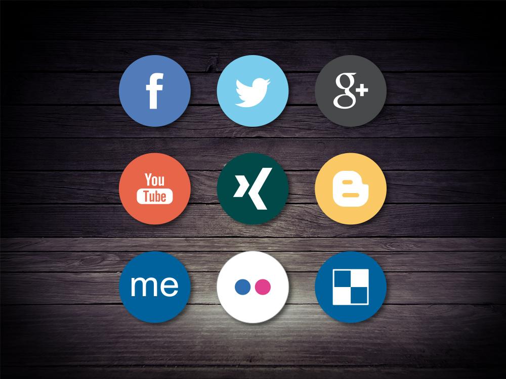 SocialMedia Kanäle - wir unterstützen Ihre Kommunikation im Web 2.0