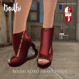 Bodhi XOXO Heart Heels http://maps.secondlife.com/secondlife/Woodland%20Park/171/101/21
