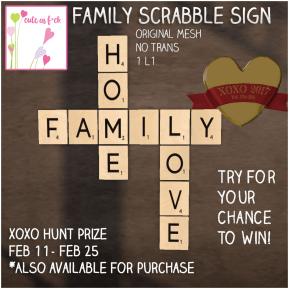 ::cute as f*ck:: Scrabble Sign http://maps.secondlife.com/secondlife/Empire/230/90/3502