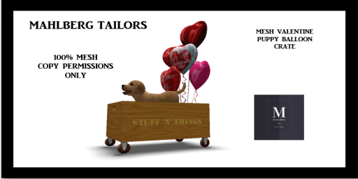 MT-Valentines Puppy Crate http://maps.secondlife.com/secondlife/Quarry%20Hill/215/53/106