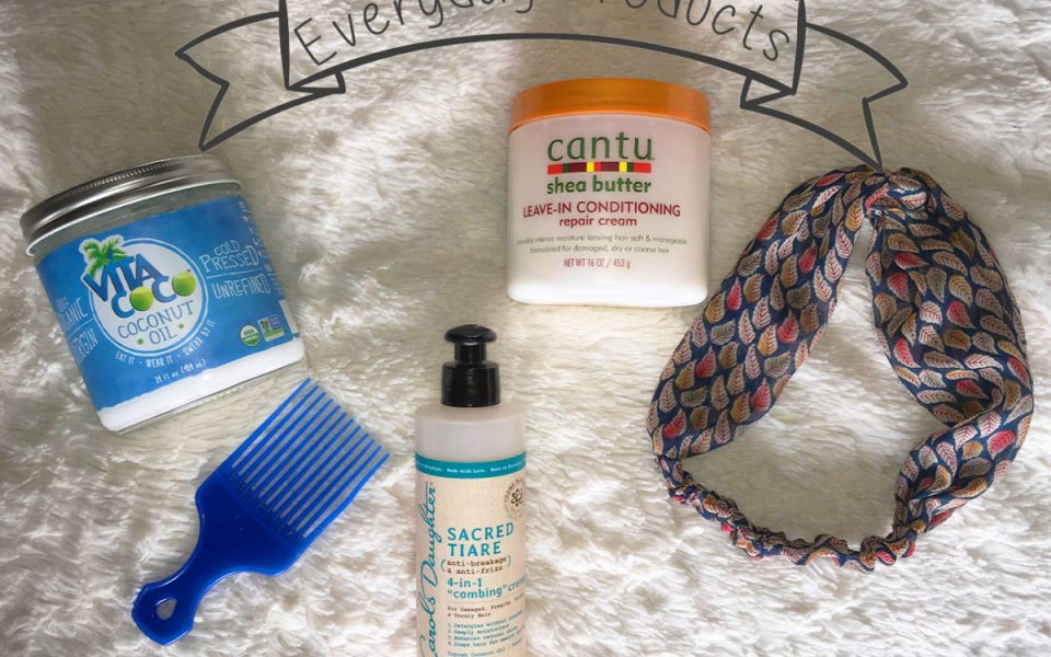 Current Curly Hair Products Rotation