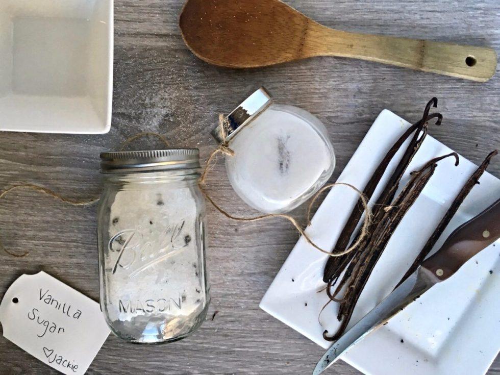 Vanilla Infused Sugar Recipe diy
