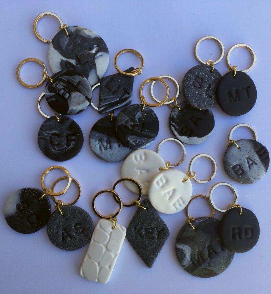 DIY: Personalized Clay Keychains popular-posts diy