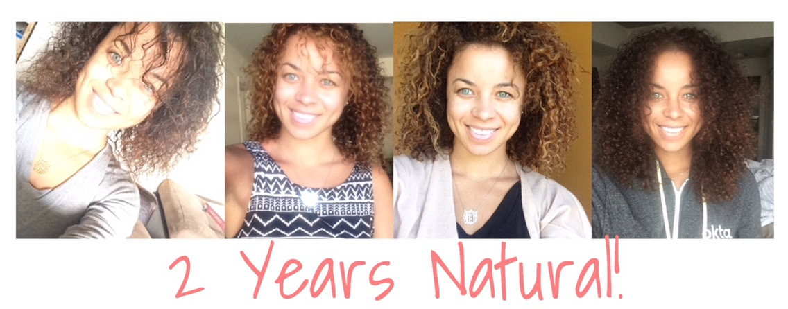 Celebrating 2 Years Natural! curly