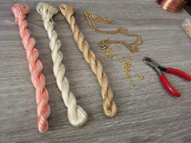 10-Minute DIY Tassel Necklace for Spring diy