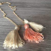 10-Minute DIY Tassel Necklace for Spring
