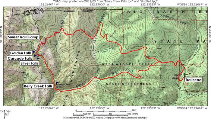 A Day Exploring Big Basin Redwoods State Park travel