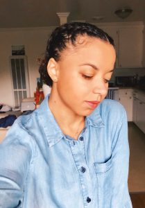 Easy Protective Style - Perfect for Work! curly