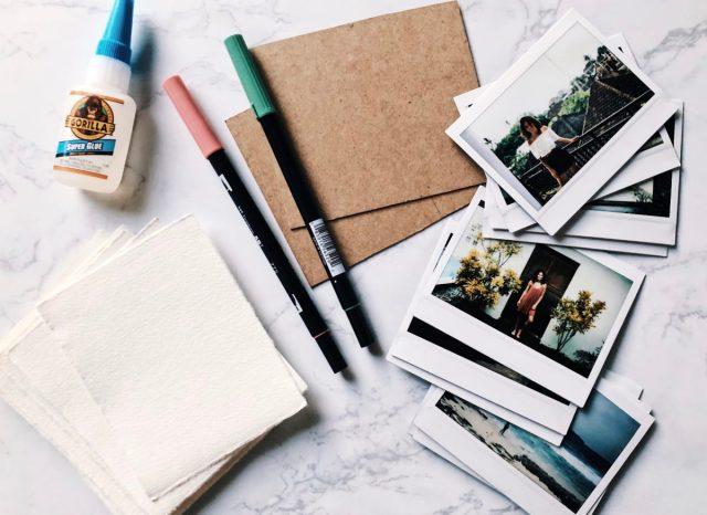 DIY Instant Camera Photo Album diy