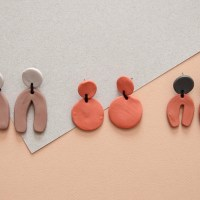 Neutrals Polymer Clay Earring Collection DIY