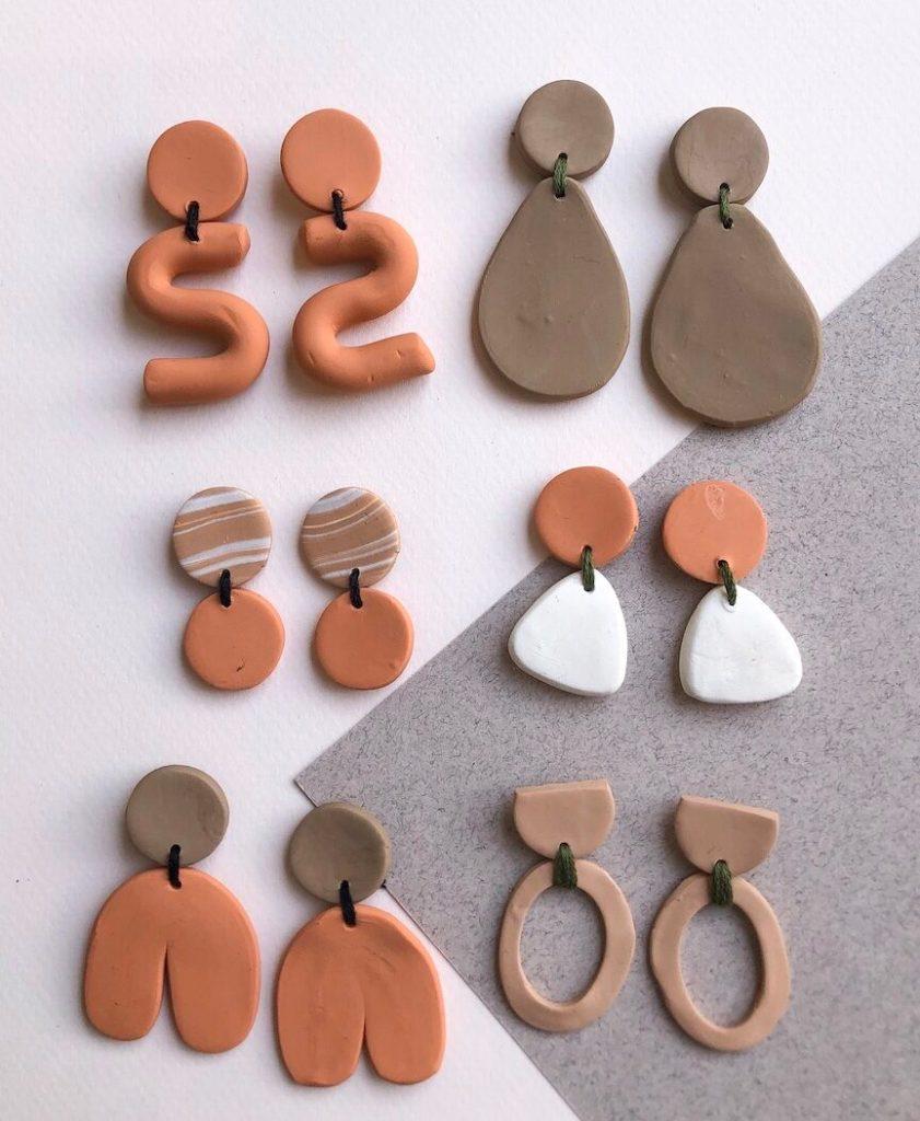 Spring '19 DIY Polymer Earring Collection diy