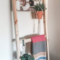 Ikea Ivar Leaning Ladder Hack