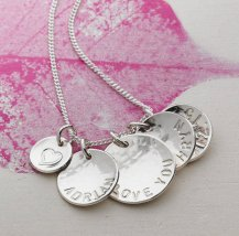 mothers day - personalised her story necklace