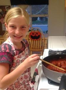 Pioneer Women Spaghetti + Meatballs