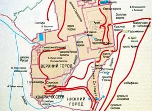 Схемы и карты - Храм Гроба Господня