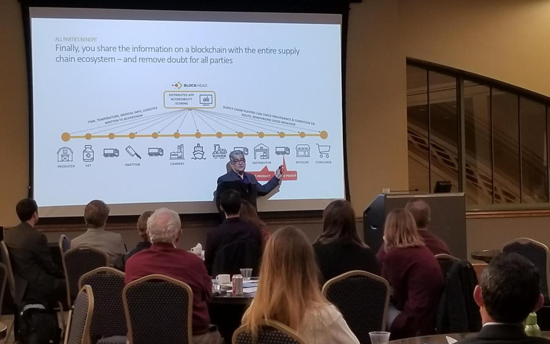 Eric Weaver at the 2018 Emerging Technologies Conference